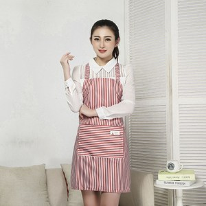【三房兩廳】時尚袖套防水圍裙/工作圍裙 (粉色)