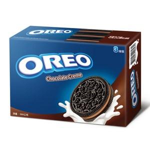 OREO 奧利奧巧克力口味夾心餅乾(399g)x12入 箱購