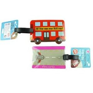 【PUSH!】旅遊用品行李吊牌(巴士一入)S18-1