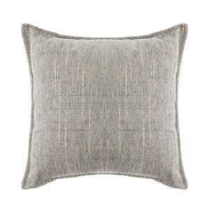 香奈兒絨棉抱枕 45x45cm 灰色款