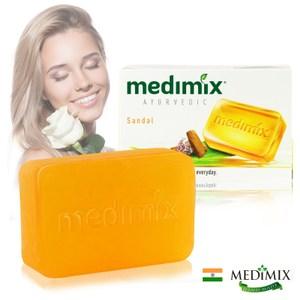 印度Medimix美秘使全新升級潤膚檀香手工皂(125g)*12入