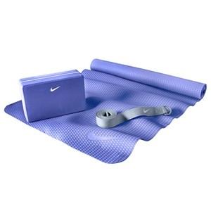 NIKE 基礎瑜珈組合 藍色 Essential Yoga Kit