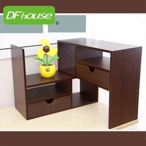 《DFhouse》普魯夏伸縮書架-2色胡桃木色