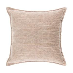 香奈兒絨棉抱枕 45x45cm 米色款