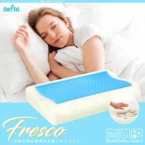 CooFeel 涼感冷凝珠記憶枕/波浪枕/人體工學枕