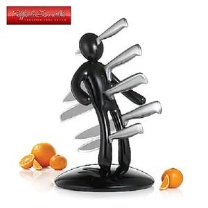 義大利原創設計師Raffaele Iannello鉬釩鋼刀具5件組 黑
