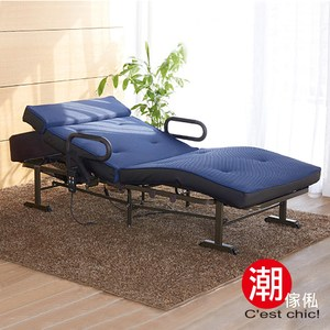 【C'est Chic】御宿庭電動雙馬達機能折疊床-幅104cm