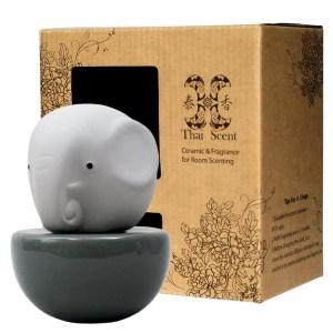 ThaiScent泰香 藍色大象擴香精禮盒碧海藍天