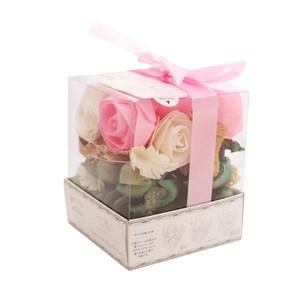 日本索拉花香花盒 -粉紅玫瑰