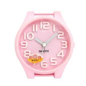 無敵王 糖果色手錶造型立體數字鬧鐘SV-1314-P