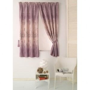 左岸有愛遮光窗簾 寬200X高165cm 紫