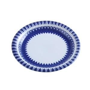 日本若藍系列圓盤16.5cm幾何