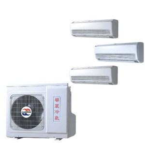 華菱變頻冷暖一對三DTRS-983KIVSH/DNS-42/28/28