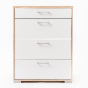 丹麥品牌 Tvilum 四抽斗櫃 採E1板材