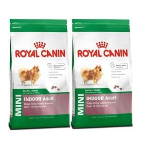 ROYAL CANIN 法國皇家 小型室內成犬PRIA21 犬飼料4kg X 2包