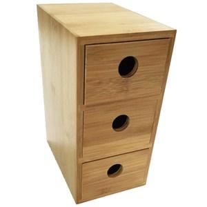 品木直式三抽儲物盒 H6001