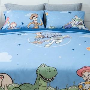 HOLA 迪士尼系列 Toy Story 純棉床被組 單人