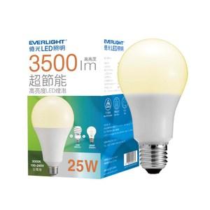 億光25W超節能LED燈泡 球泡燈 黃光