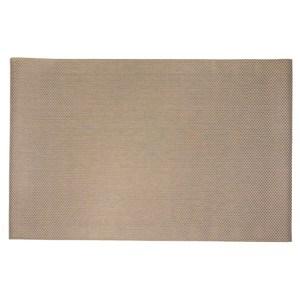 HOLA 特斯勒時尚編織踏墊 100x140cm 棕格
