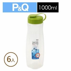 樂扣樂扣P&Q水壺1.0L/B2C12/綠(6入)