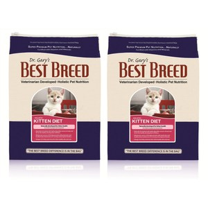 【BEST BREED】貝斯比 幼貓高營養配方 飼料 6.8kg X 2包