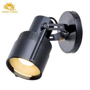 HONEY COMB 純黑聚光式壁燈 BL-12432