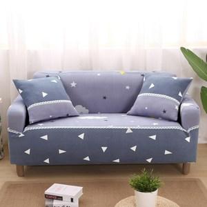 【歐卓拉】繁星彈性沙發套-3人座