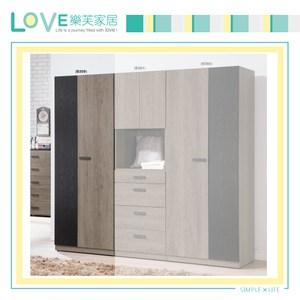 【LOVE樂芙】瓦狄恩2.7尺雙吊衣櫥