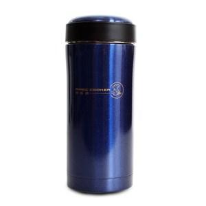 妙廚師 高真空不鏽鋼烤漆學士杯350ml(藍)