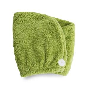 Lovel 7倍強效吸水抗菌超細纖維浴帽(檸檬綠)
