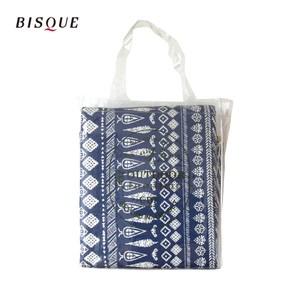 【日本BISQUE】可水洗野餐雙面軟墊-180x140cm(5-6人)民族藍