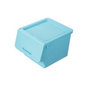 [特價]BQ840-2 箱根直取式整理箱40L(水藍)