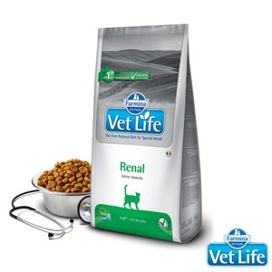 法米納 天然處方-貓用腎臟配方2kg*2包組(B312A05-1)