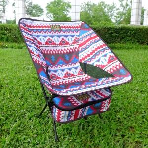 【LIFECODE】羽量級-民族風輕巧蝴蝶椅 (紅色)