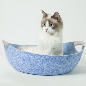 鍋盔窩-天藍色