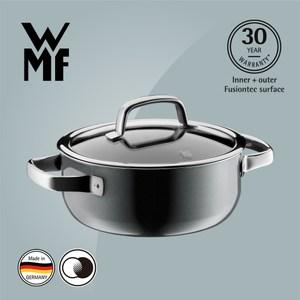 【WMF】Fusiontec 低身湯鍋 20cm 2.4L(鉑灰色)