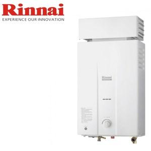 【林內Rinnai】屋外抗風熱水器 12公升(RU-B1221RF)-天然瓦斯