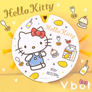 Vbot x Hello Kitty i6+芒果奶霜蛋糕 掃地機器人 尺寸約:23.5cm
