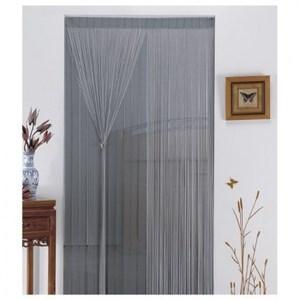 金格拉斯雙層雙色線簾90x180cm鐵灰
