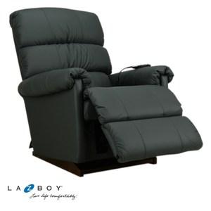 La-Z-Boy 電動式休閒椅 1PT505 半牛皮 深灰