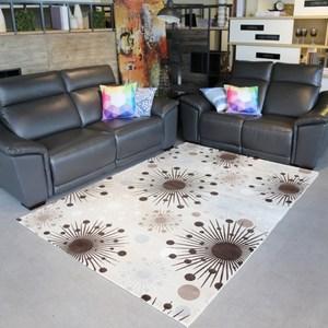 【YFS】耐磨高透氣親膚地毯-希臘170x240cm