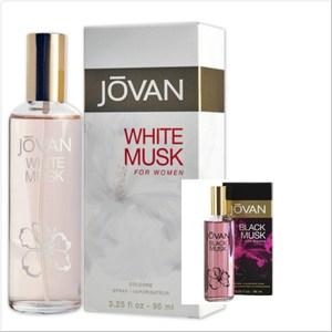 JOVAN White/Blak Musk 女用古龍水(96ml)*2