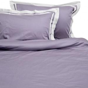 HOLA home索爾特素色拼接床被組 單人 紫色
