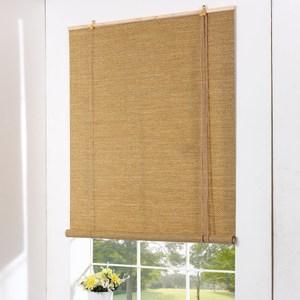 禪意金線紙編捲簾 深色 120x165cm
