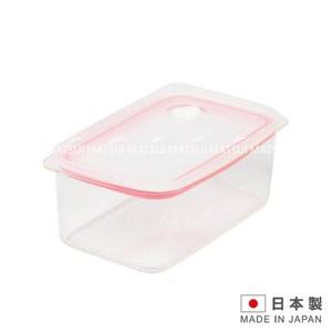 EASYCLEAN 日本製密閉保鮮盒1.0L-粉色TA-HB2625