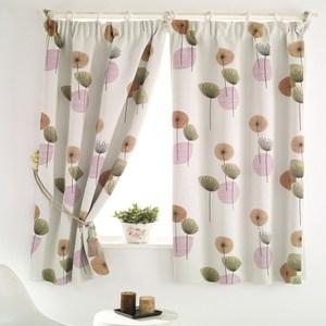 【三房兩廳】花之頌半腰遮光窗簾-200x165cm