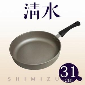清水星鑽陶瓷不沾平煎鍋(無蓋)31CM