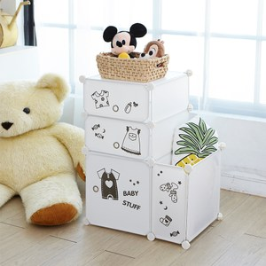 【H&R安室家】趣味卡通收納櫃