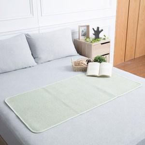 HOLA 艾爾亞藤抗菌防蟎兒童床蓆 60x120cm 綠