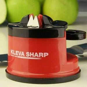 KLEVA SHARP 吸盤式安全磨刀器-紅